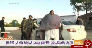 خان بابای 440 کیلویی پاکستانی