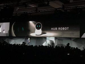 ربات خانگی ال جی با فناوری الکسای آمازون وارد میشود