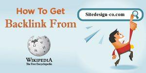 بک لینک گرفتن از wikipedia